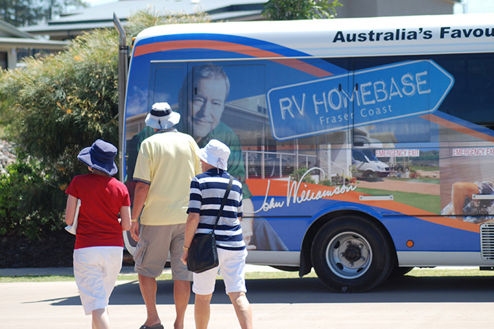 RV Homebase Bus